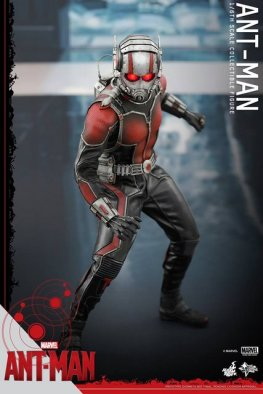 Hot Toys Ant-Man figure -peering down