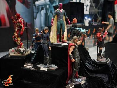 Hot Toys SDCC'15 - Avengers Age of Ultron collection