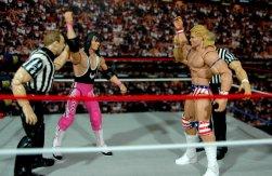 Lex Luger WWE Mattel Elite 30 figure - Bret Hart and Lex Luger are co-winners
