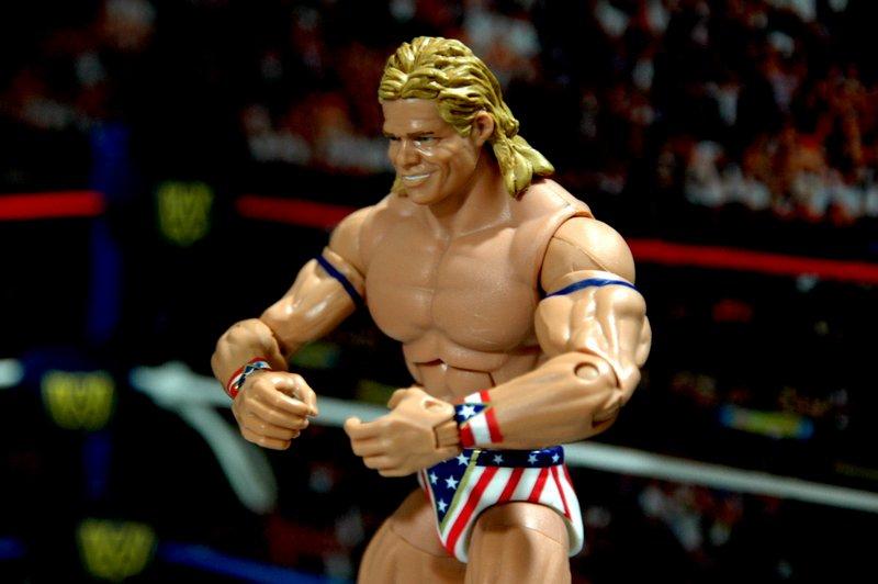 Lex Luger WWE Mattel Elite 30 figure -posing