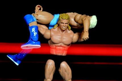 Lex Luger WWE Mattel Elite 30 figure -torture rack to Ric Flair