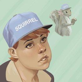 Marvel Hip Hop Variant covers - Squirrel_Girl_Hip-Hop_Variant