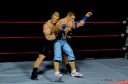 Mattel Brock Lesnar WWE figure - grabbing Cena