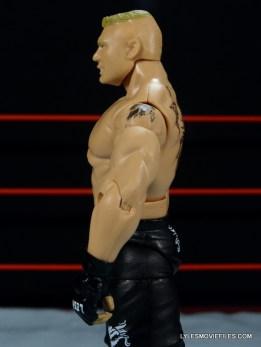 Mattel Brock Lesnar WWE figure - left side detail