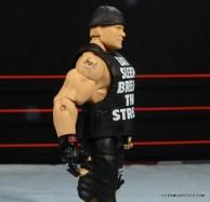 Mattel Brock Lesnar WWE figure - right side shirt