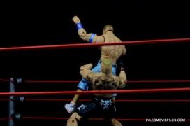 Mattel Brock Lesnar WWE figure - suplex2 Cena