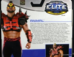 Mattel WWE Elite 30 Legion of Doom - Animal card bio