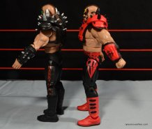 Mattel WWE Elite 30 Legion of Doom - Animal right side detail
