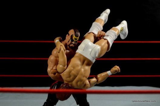 Mattel WWE Elite 30 Legion of Doom - bodyslamming DiBiase