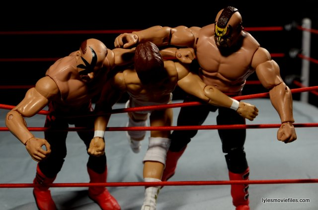 Clotheslining Interesting Mattel WWE Hawk And Animal Legion Of Doom Elite 60 Figure Review