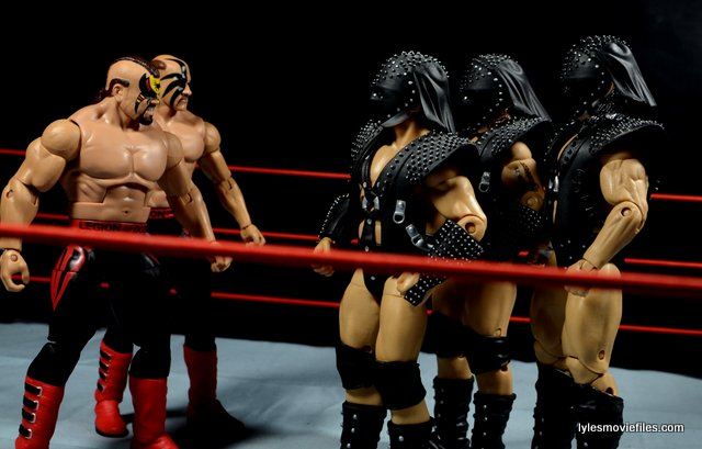 Mattel WWE Elite 30 Legion of Doom - Legion of Doom squaring off with Demolition