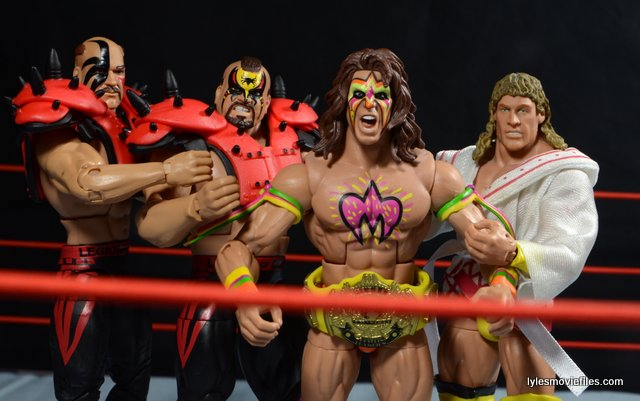 Mattel WWE Elite 30 Legion of Doom - with Ultimate Warrior and Texas Tornado