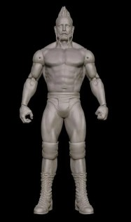 Mattel WWE SDCC reveals - Sheamus mohawk