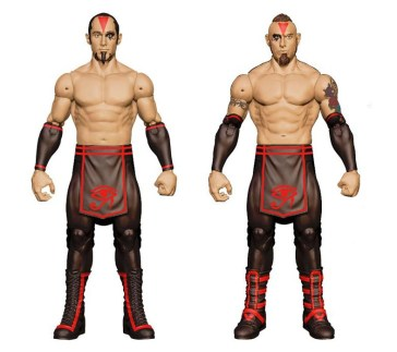 Mattel WWE SDCC reveals - The Ascension