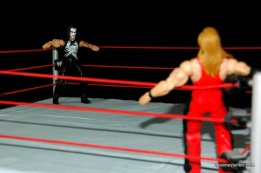 Sting figure WWE Mattel Defining Moments - about to hit Nash with Stinger Splash