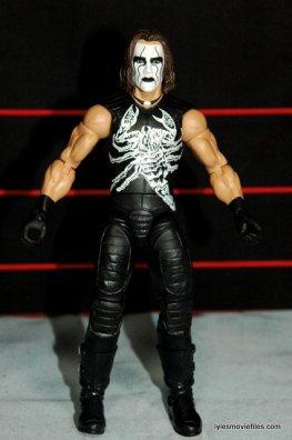 Sting figure WWE Mattel Defining Moments - front detail