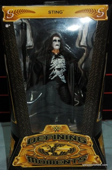 Sting figure WWE Mattel Defining Moments - front package