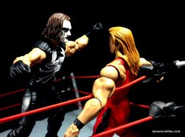 Sting figure WWE Mattel Defining Moments - Stinger Splash onto Nash