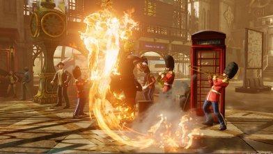 Street Fighter V - Ken fire Shoryuken