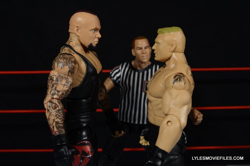 Wrestlemania 30 Undertaker Mattel - facing off with Brock
