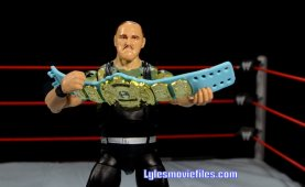 Sgt. Slaughter WWE Hall of Fame figure - holding world title