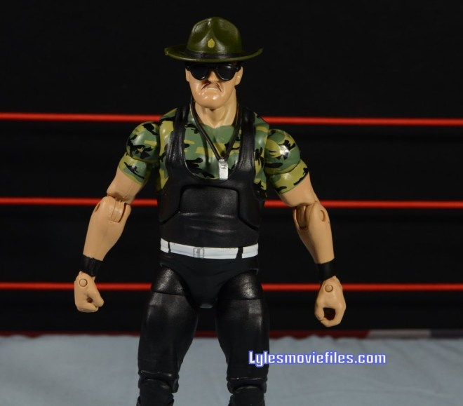 Sgt. Slaughter WWE Hall of Fame figure - with accessories