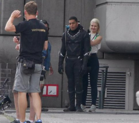 Black Panther set leaks from Captain America Civil War