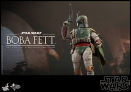 Boba Fett Hot Toys figure -at the ready