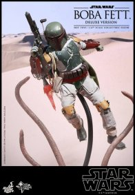 Boba Fett Hot Toys figure -flying