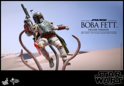 Boba Fett Hot Toys figure -main Sarlaac fight
