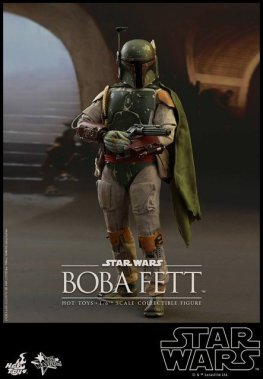 Boba Fett Hot Toys figure -side shot