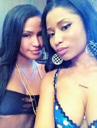 Cassie and Nicki Minaj selfie