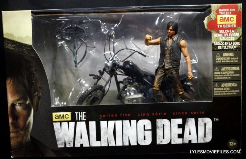 Daryl Dixon Walking Dead deluxe figure - in package