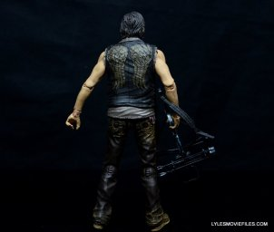 Daryl Dixon Walking Dead deluxe figure -rear wide