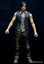 Daryl Dixon Walking Dead deluxe figure -wide front shot