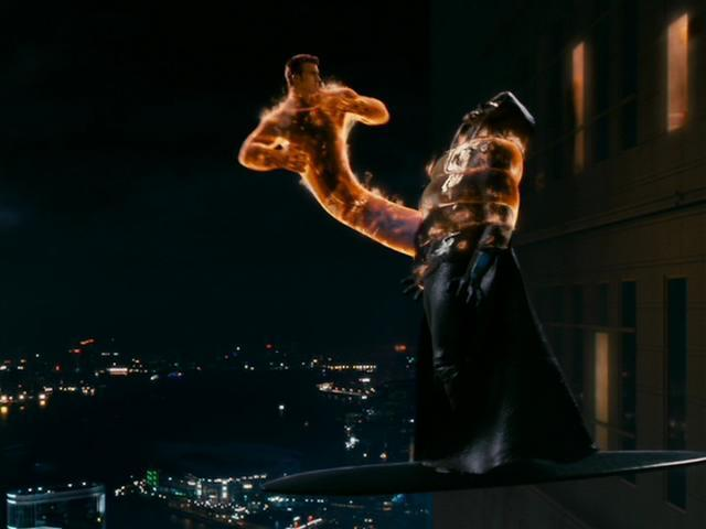 Fantastic 4 Rise of the Silver Surfer - Human Torch vs Dr. Doom