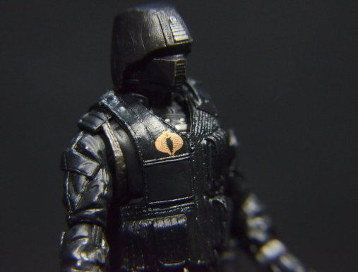 GI Joe Gung-Ho vs Cobra Shadow Guard -CSG right detail
