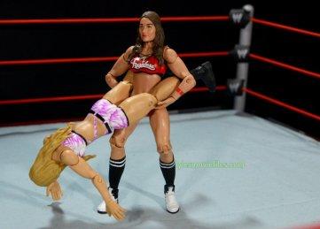 Nikki Bella Mattel WWE figure - Alabama slam to Emma