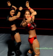 Nikki Bella Mattel WWE figure - Bella Twins dance