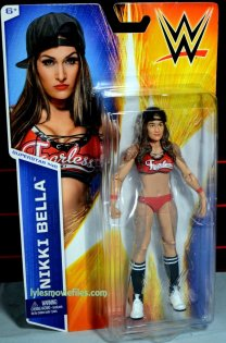 Nikki Bella Mattel WWE figure - front package