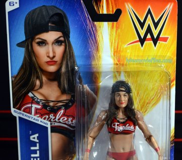 Nikki Bella Mattel WWE figure - front portrait