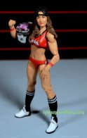 Nikki Bella Mattel WWE figure - with hat and Divas title