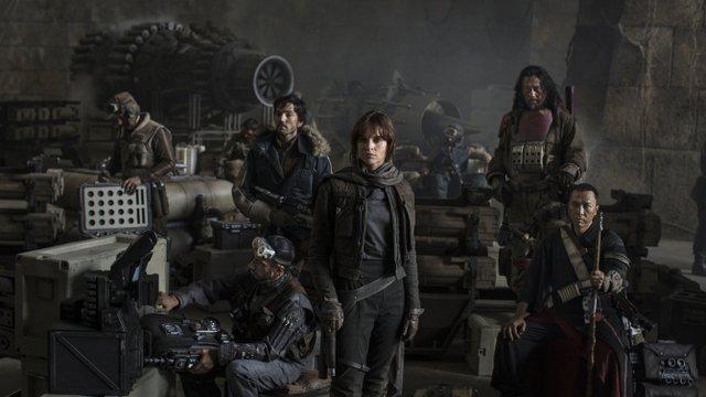 Star Wars Rogue One cast main cast