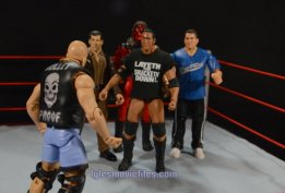 Stone Cold Steve Austin Hall of Fame -face off with The Corporation