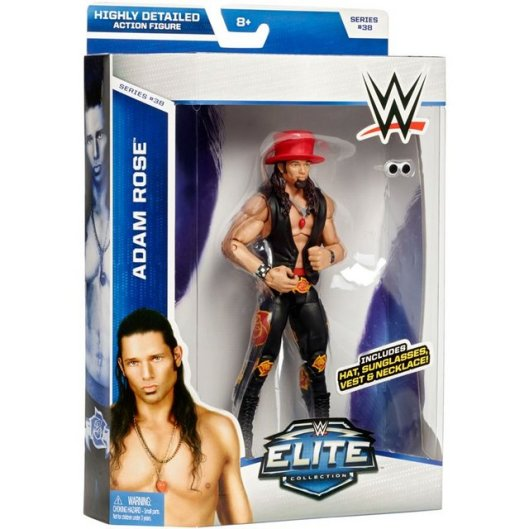 WWE Elite 38 - Adam Rose in package