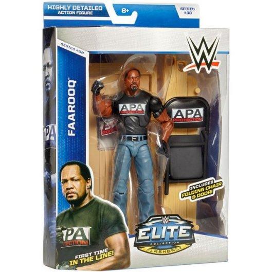 WWE Elite 38 - Farooq in package
