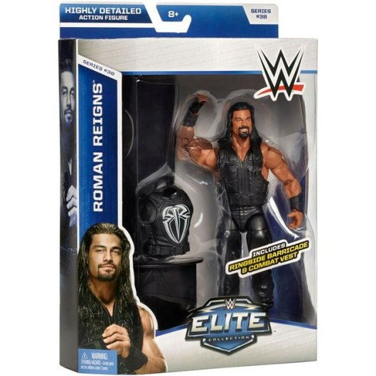 WWE Elite 38 - Roman Reigns in package