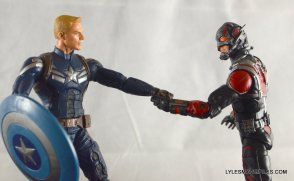 Ant-Man Marvel Legends figure review - joining Team Captain America