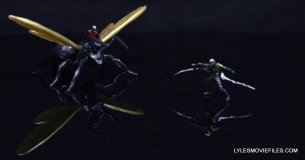 Ant-Man Marvel Legends figure review - mini Ant-Man vs Yellowjacket