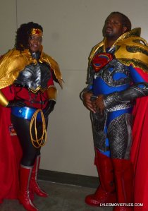Baltimore Comic Con 2015 cosplay - Armored Superman and Superwoman